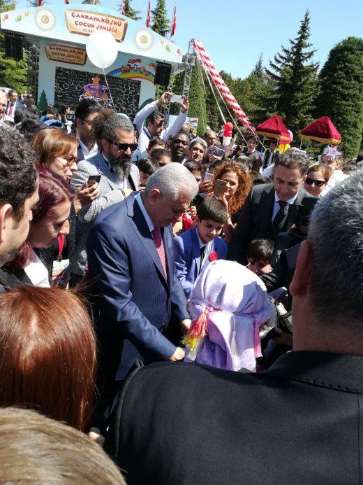 Başbakanlık 23 Nisan Etkinliğ